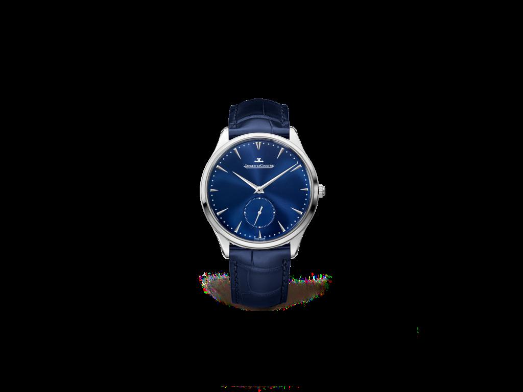 Jaeger-LeCoultre • Master Ultra Thin • Kleine Sekunde • blau