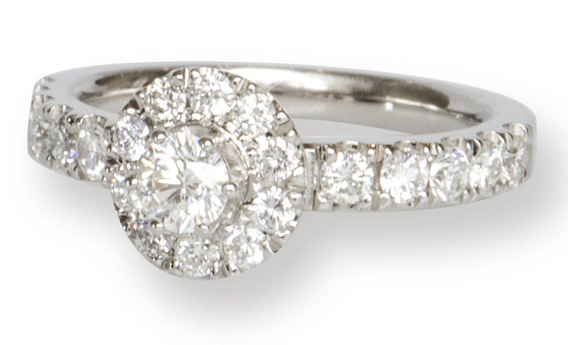Brillant Ring • MauerAtelier • Weißgold