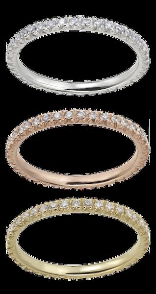Zoccai Ringe • Roségold • Gelbgold • Weißgold • Memoire