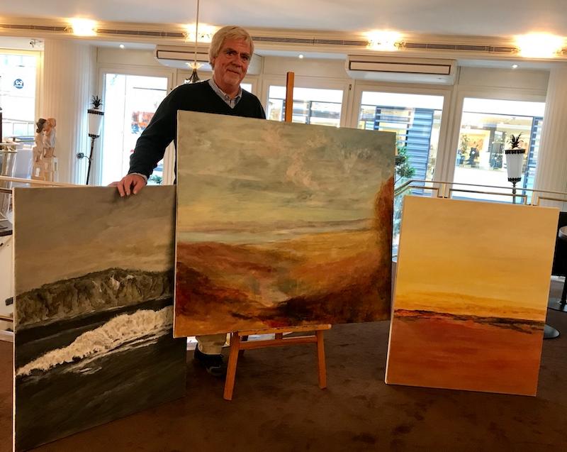 Ecki Overbeck • Ausstellung • Landschaftsimpressionen